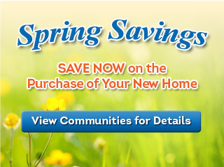 Winter Savings - Save Now on the Purchase of Your New Home